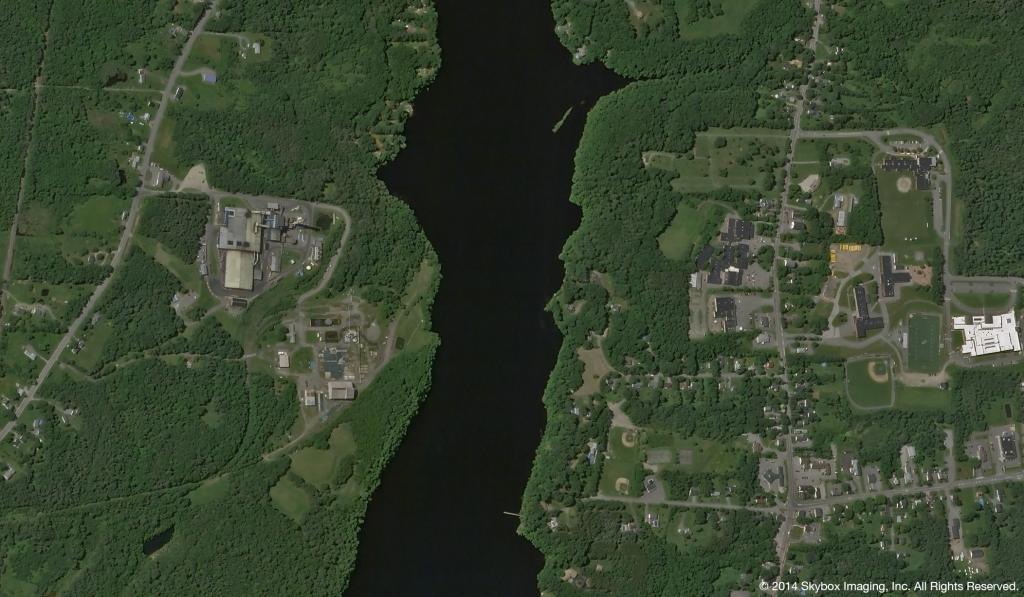 SkySat-2 Image of Bangor Maine on July 10, 2014