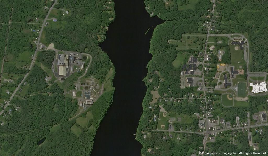 SkySat-2 Image of Bangor Maine on July 10, 2014