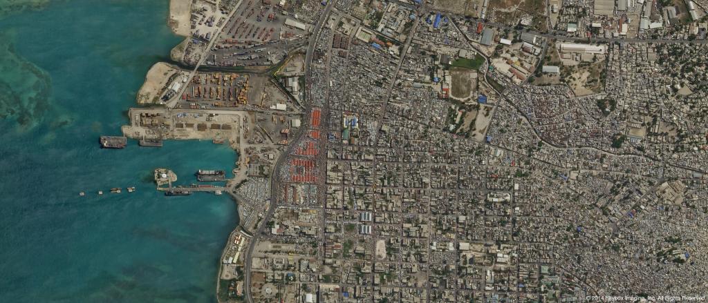 SkySat-2 Image of Port-au-Prince, Haiti on July 10, 2014