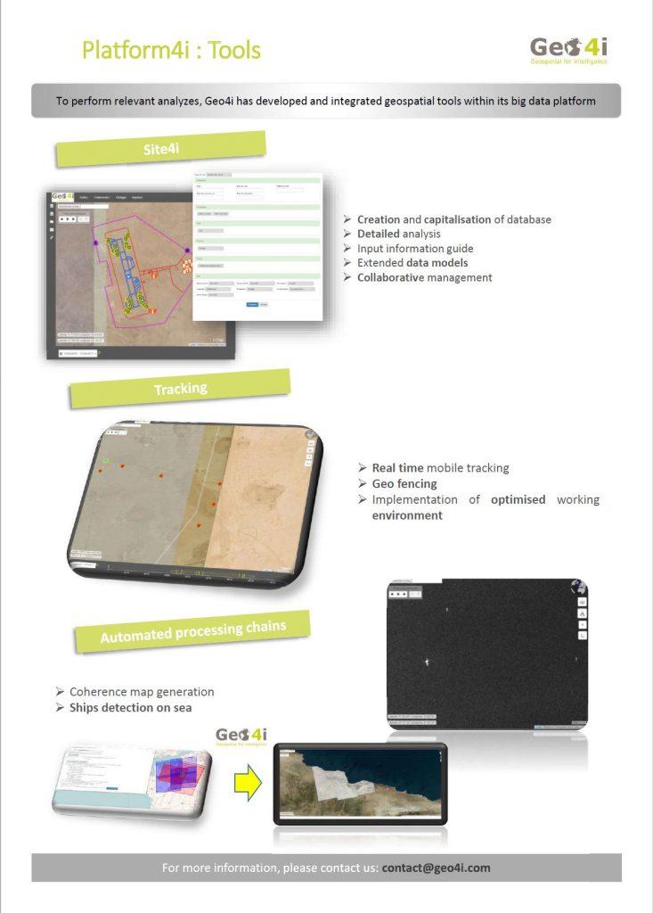 Geo4i Platform Tools